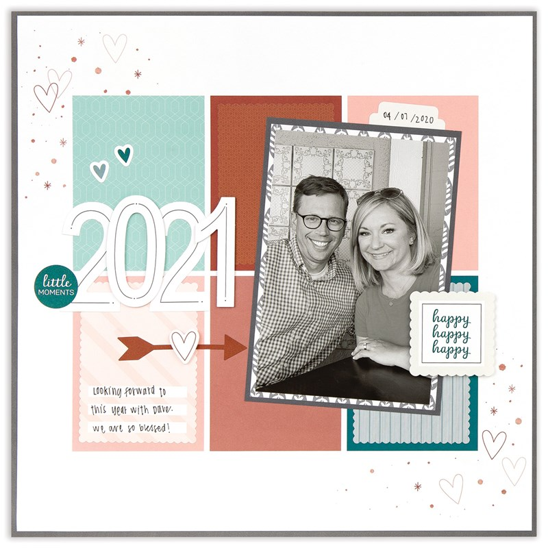 Moments like These 12″ × 12″ page