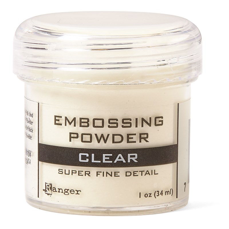 Clear Super Fine Embossing Powder