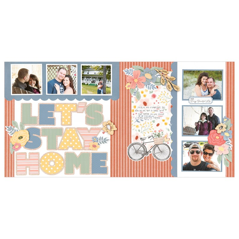 Happiness Lives Here Scrapbooking Workshop Kit