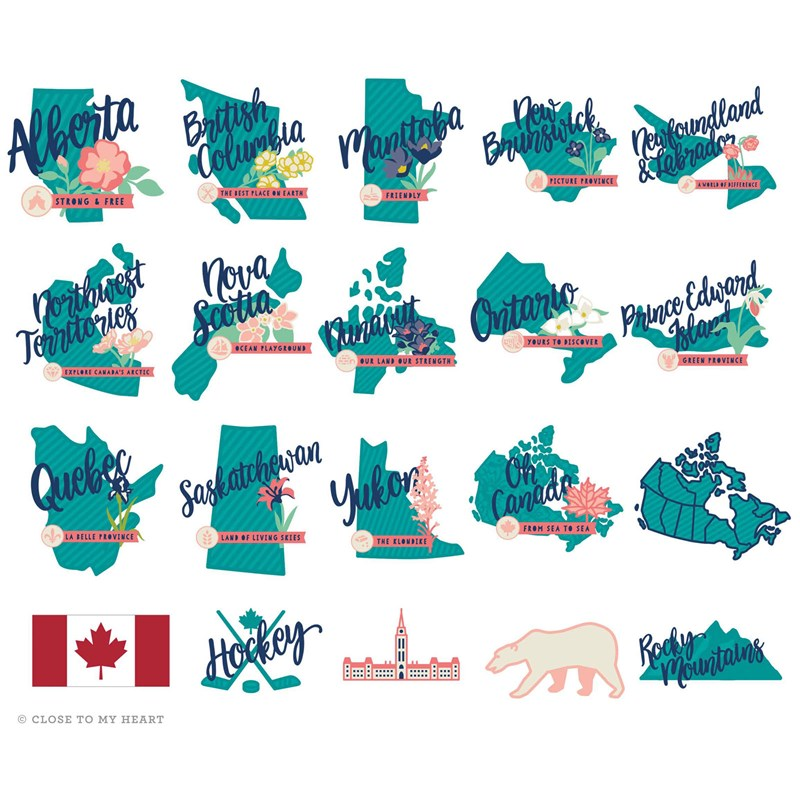 Cricut® Hello Canada Digital Collection (no cartridge)