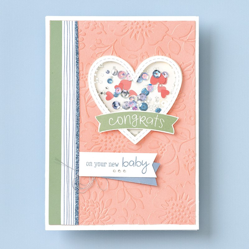 Spring Blossoms Embossing Folder