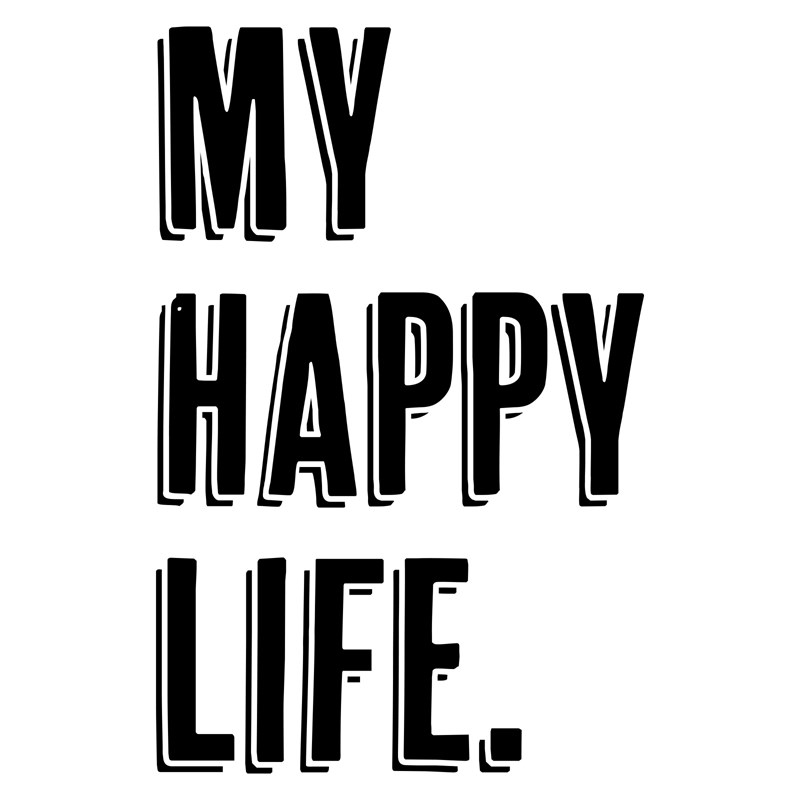 My Happy Life Digital Art