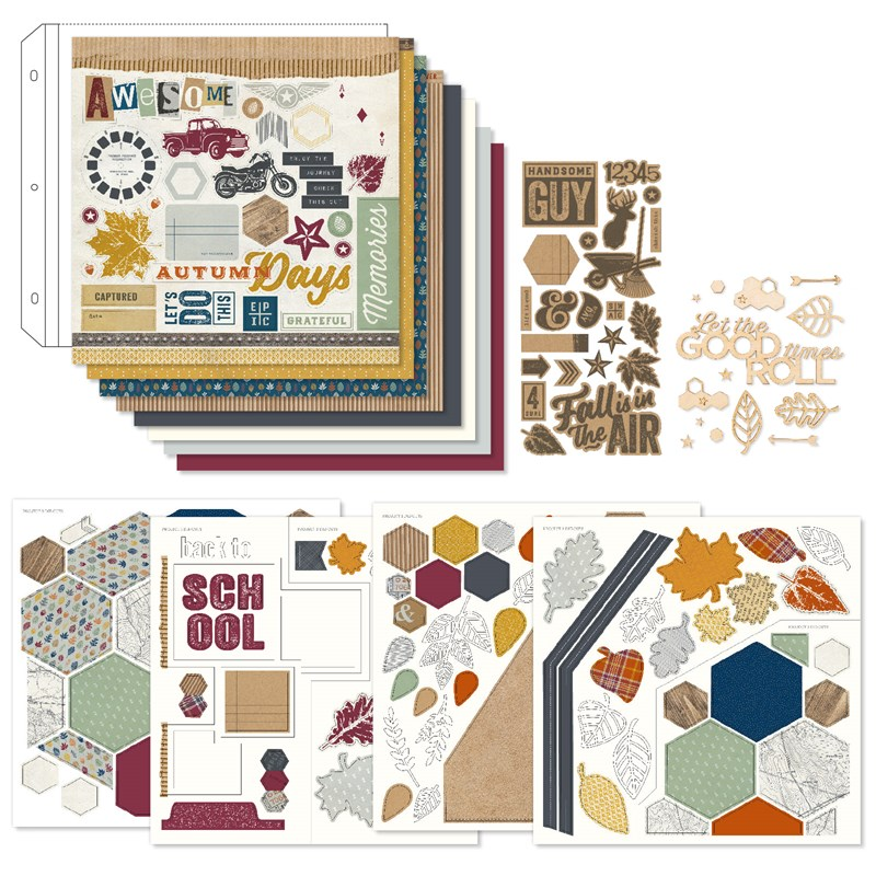 Hawthorn Scrapbooking Workshop Kit
