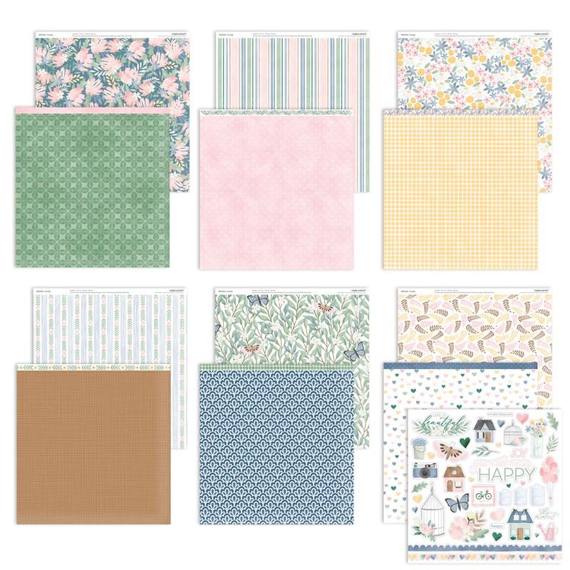 Lovely Paper Packet + Sticker Sheet