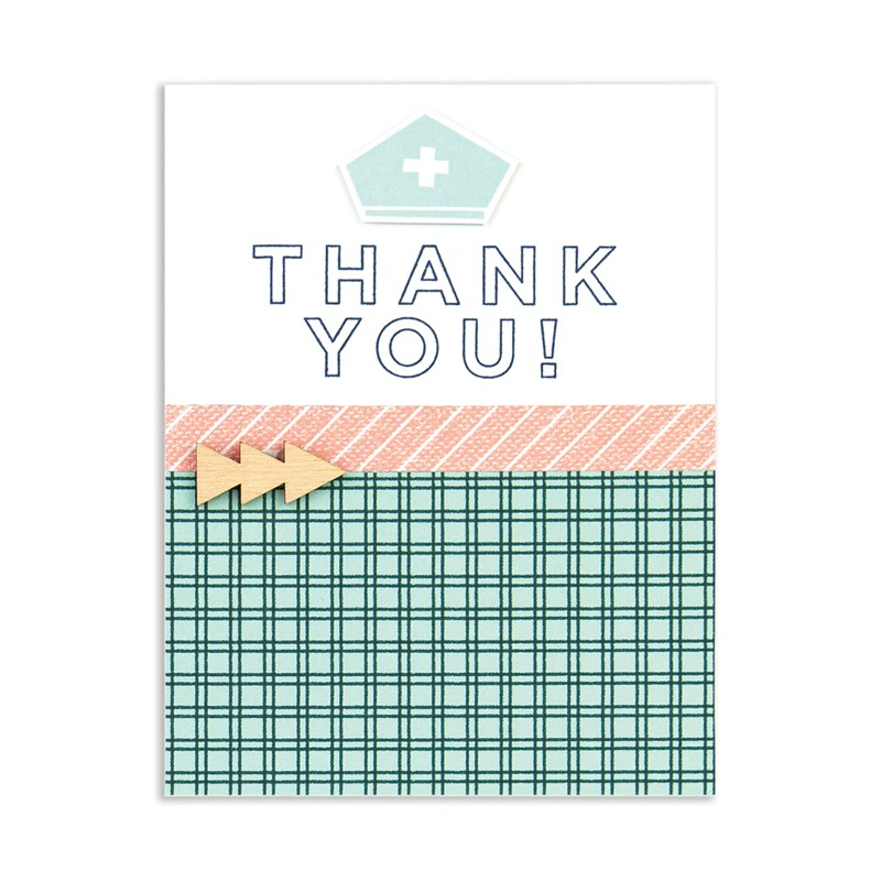 card created with National Scrapbooking Day Cardmaking Bundle 2