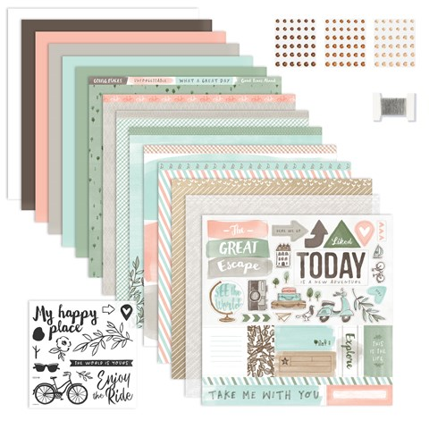 The World Is Yours Scrapbooking Workshop Kit (CC5197)