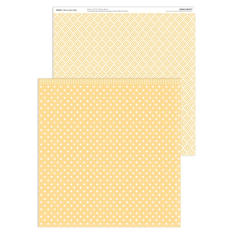 Mix-in Paper Packet (Jan–Feb)