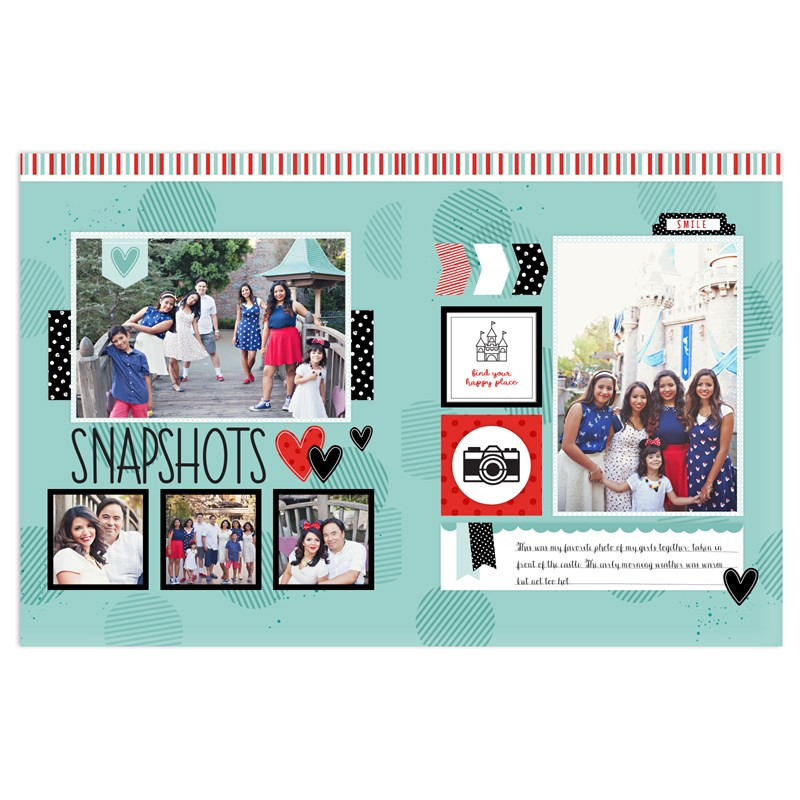 Happiest Place Cut Above® Layout Kit