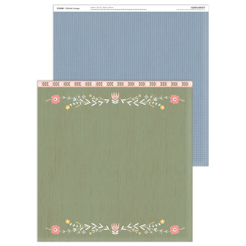 Hillside Cottage Paper Packet