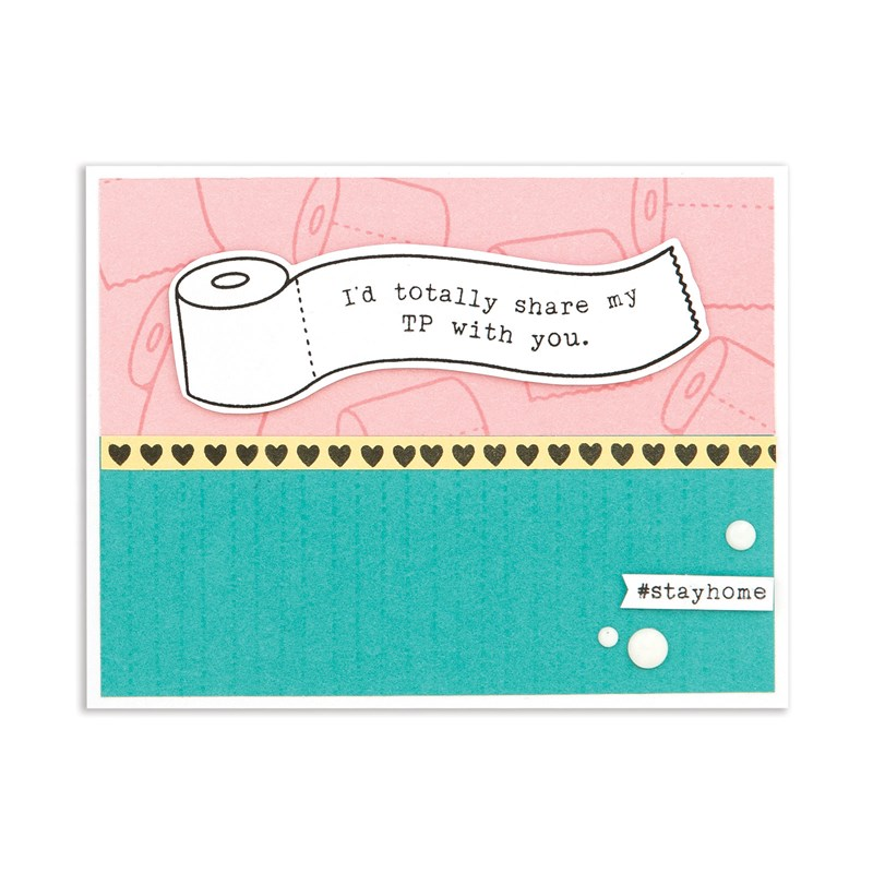 card created with National Scrapbooking Day Cardmaking Bundle 1