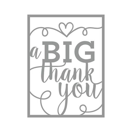 A Big Thank You Thin Cuts (Z4174)