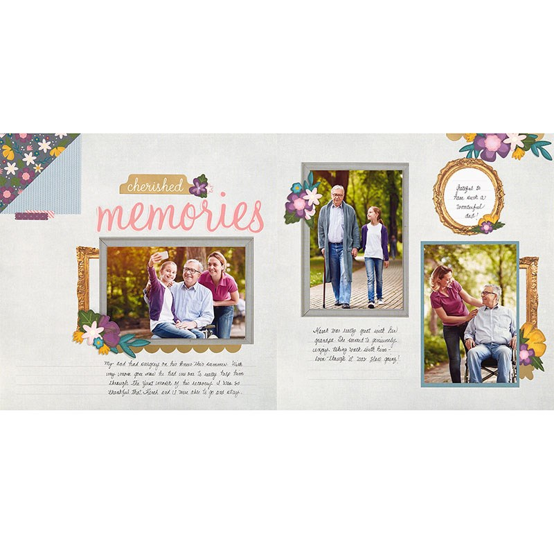 Cut Above® Layout Kit—Family Ties