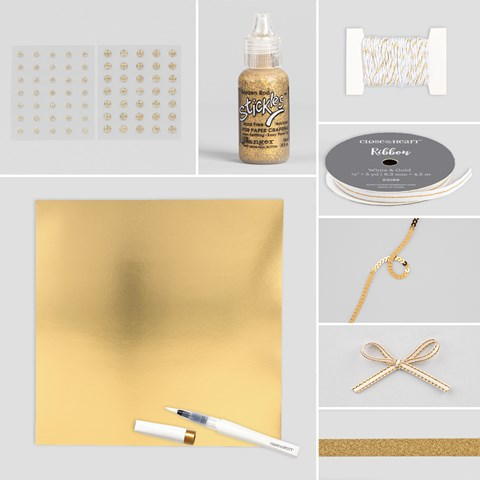 Gold Embellishment Bundle (CC101917)