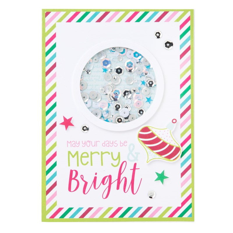 Cut Above® Card Kit—Holiday Sparkle