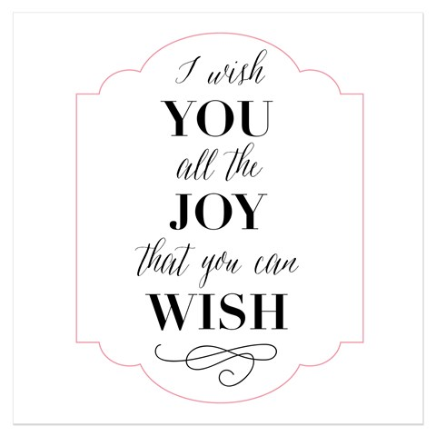 Wishing You Joy (B1596)