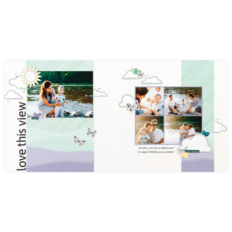 Every Little Thing Cut Above® Layout Kit - project 2