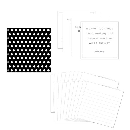 Story by Stacy™ Story Starter Workshop Kit—Dots (Z4207)