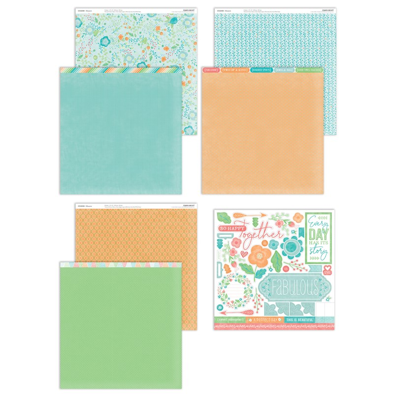 Blossom Paper Packet + Sticker Sheet