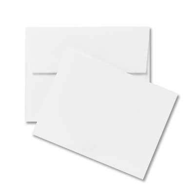White Cards & Envelopes Value Pack
