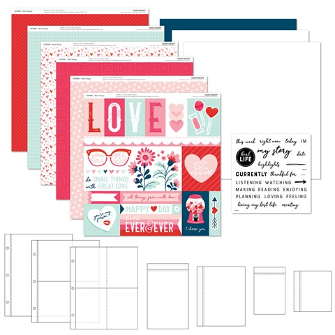 Heart Happy Everyday Life™ Workshop Kit (with Stamp Set) (CC2194)