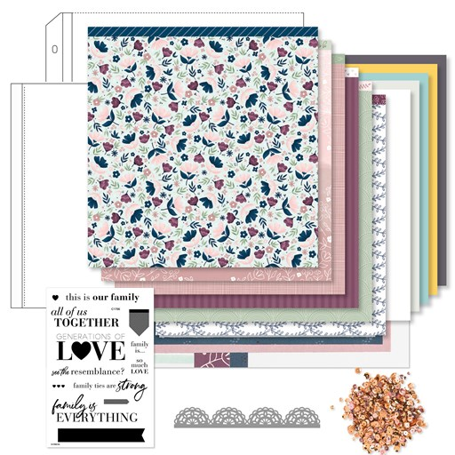 True Love Deluxe Scrapbooking Workshop Kit (Z4510)