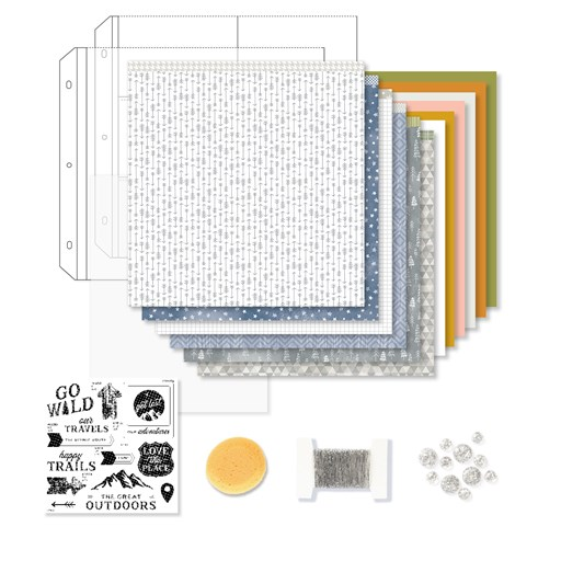 Into the Wild Deluxe Scrapbooking Workshop Kit (Z4513)