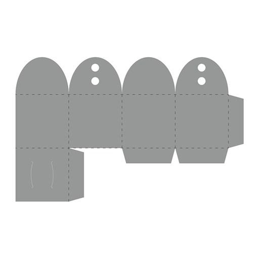 Thin Cuts—Favor Box (Z4173)