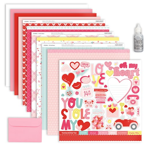 Oh My Heart Workshop Kit without Stamp Set (CC12015)