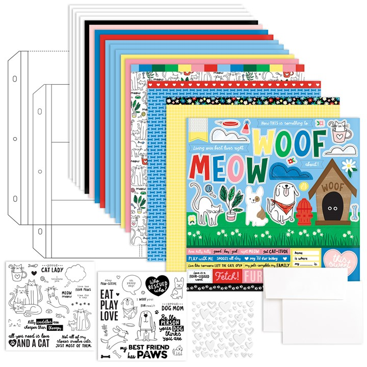 Best Friends Furever Workshop Kit with Stamp Sets (CC11197)