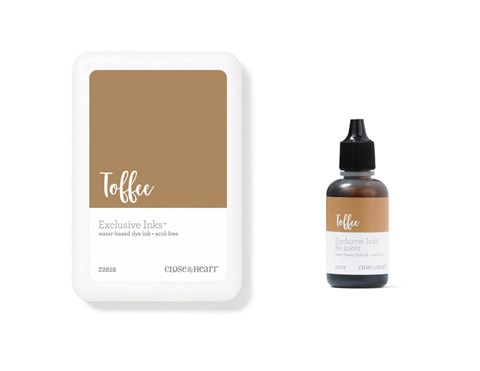 Toffee Exclusive Inks™ Stamp Pad + Re-inker (CC1434)