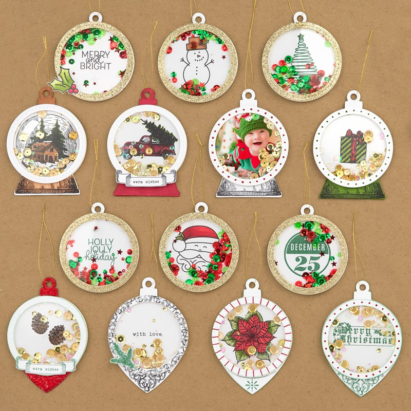 Holiday Cheer Ornament Die-cuts