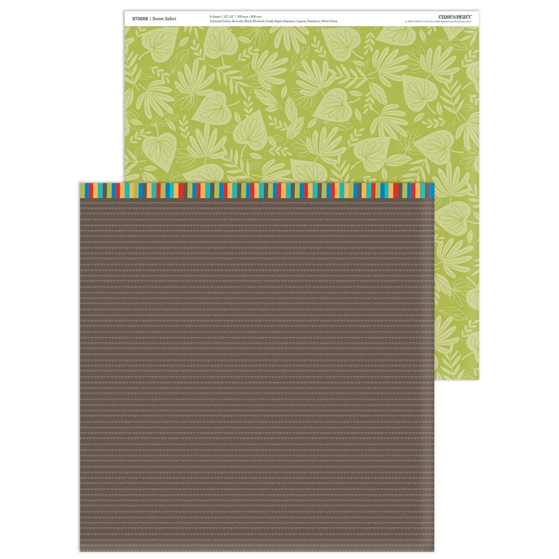 Sweet Safari Paper Packet