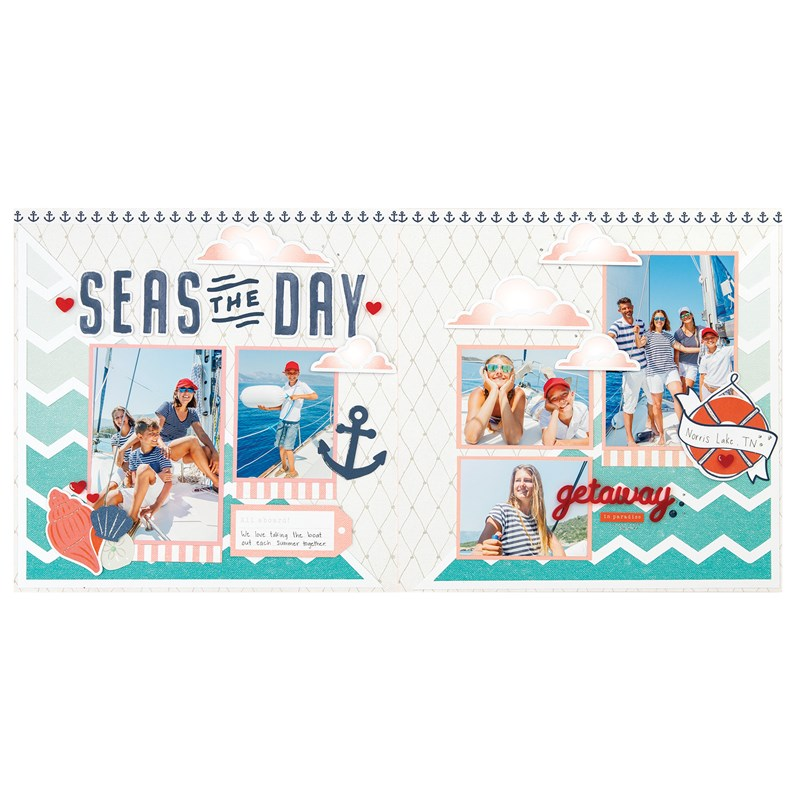 Seas the Day Scrapbooking Workshop Kit  (without Memory Protectors™)