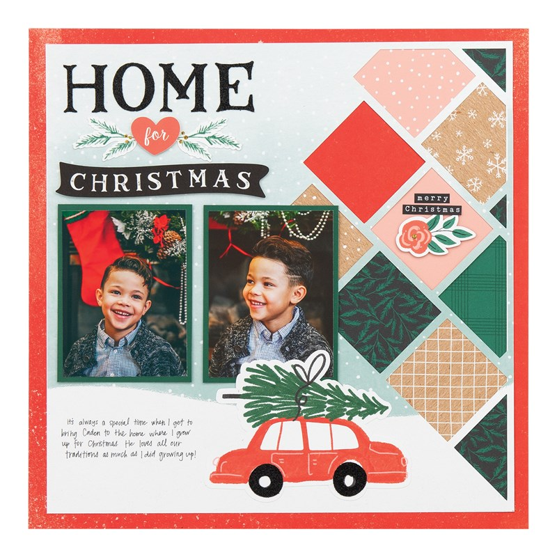 Cedar & Pine Scrapbooking Workshop Kit