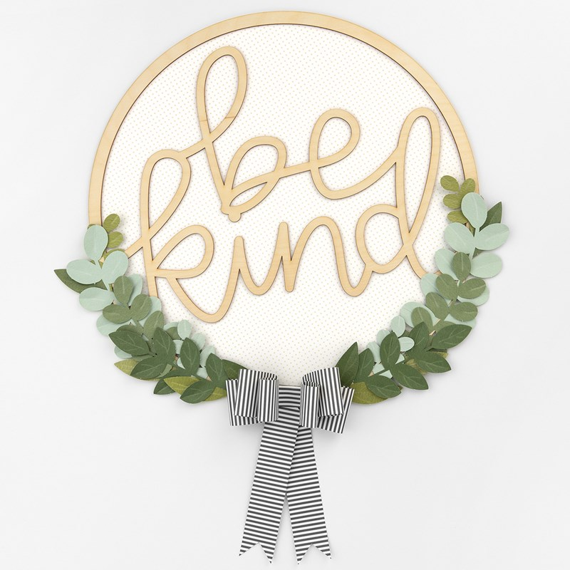 Be Kind Wreath Kit
