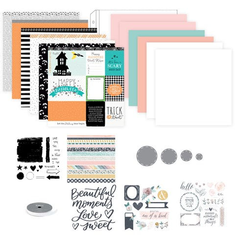 Hello Pumpkin Deluxe Scrapbooking Workshop (with Stamp & Thin Cuts) (CC11182)