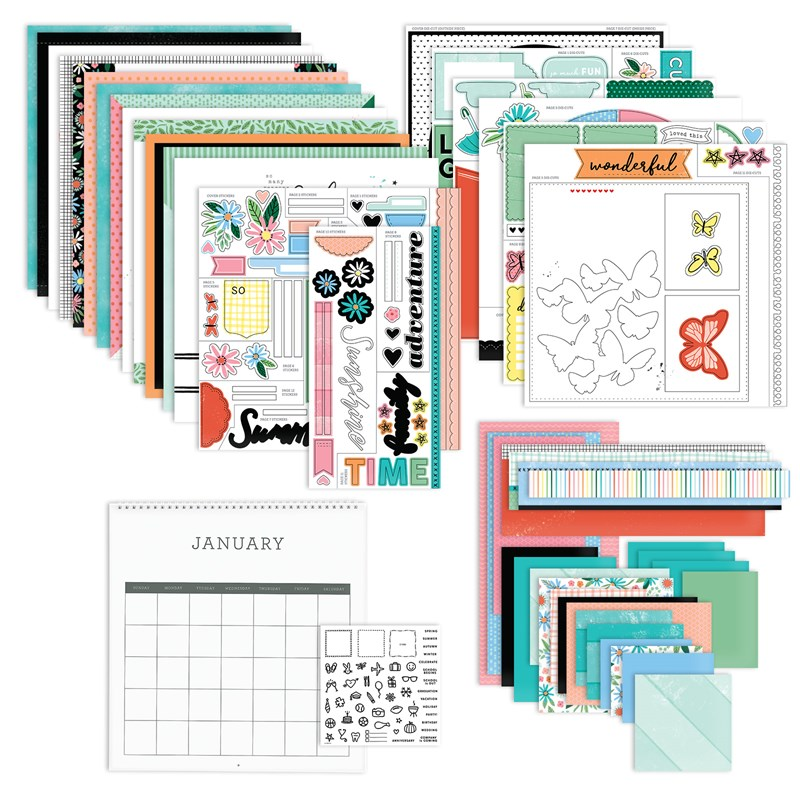 Reason to Smile Calendar Kit
