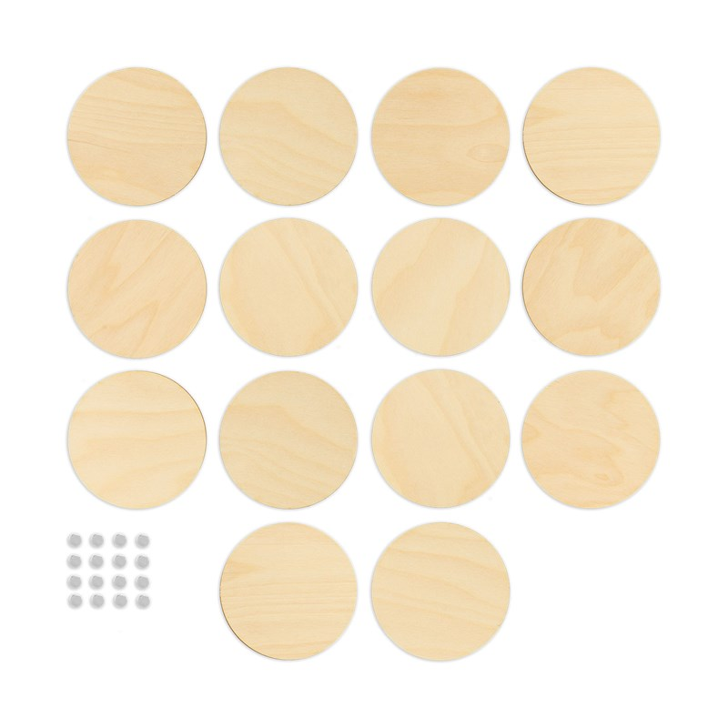 Wood Circles & Magnets