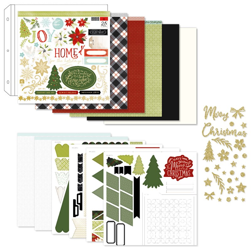 Comfort & Joy Scrapbooking Workshop Kit