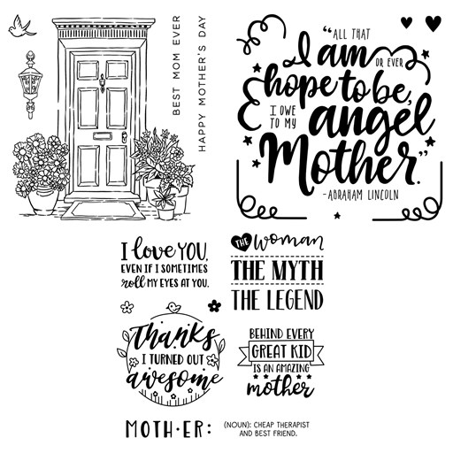 Love for Mother Stamp Bundle (CC42016)