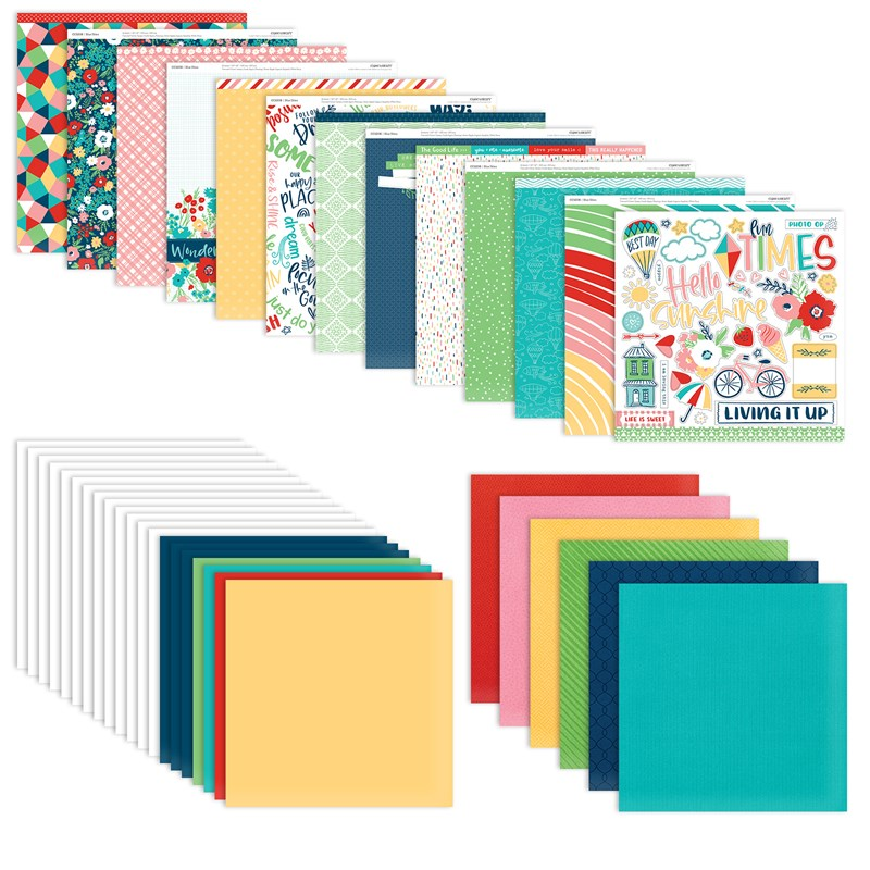 Blue Skies Scrapbooking Workshop Kit