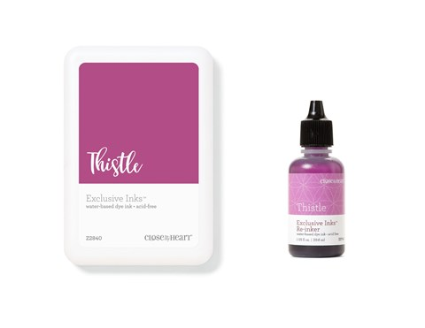 Thistle Exclusive Inks™ Stamp Pad + Re-inker (CC1425)