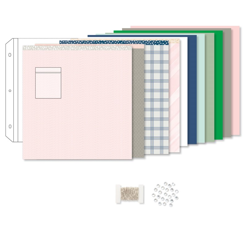 Sweet Girl Deluxe Scrapbooking Workshop Kit (without stamp set)
