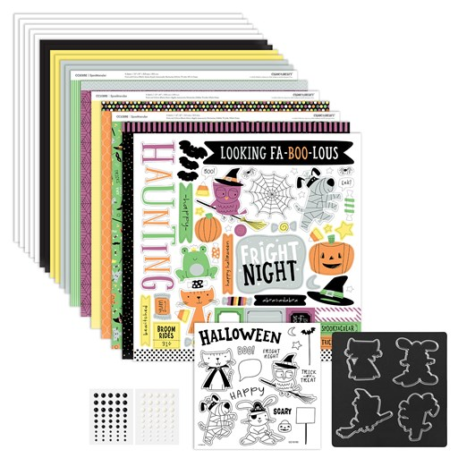 Spooktacular Workshop Kit with Stamp + Thin Cuts (CC10198)