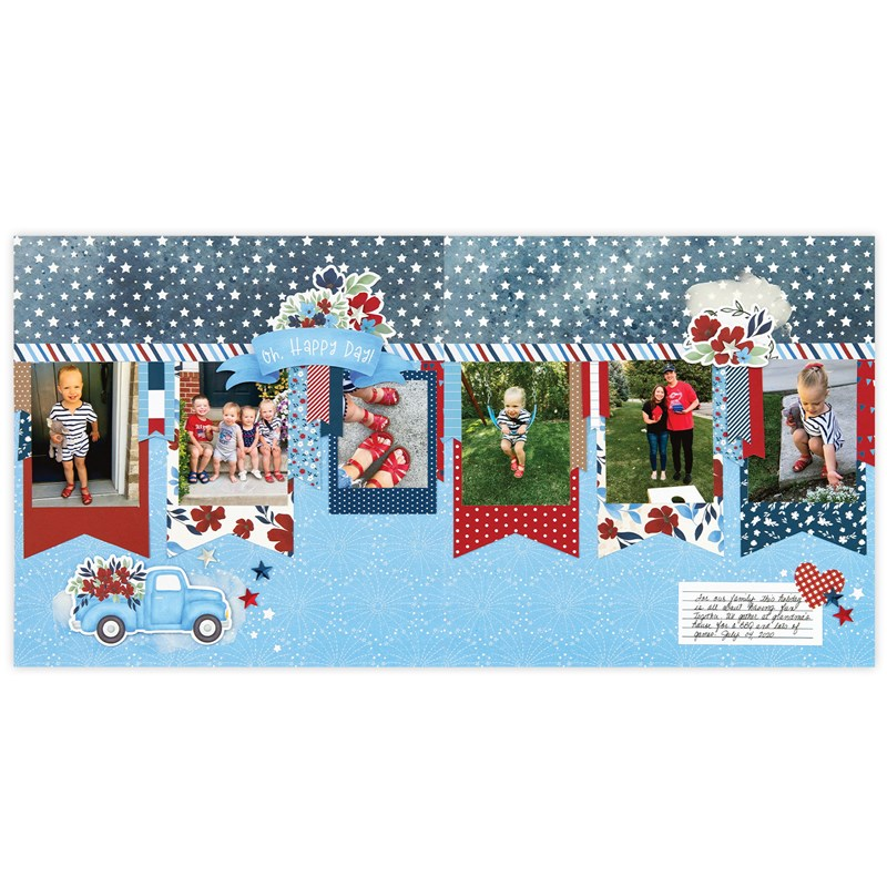 Stars & Sparklers Scrapbooking Workshop Kit