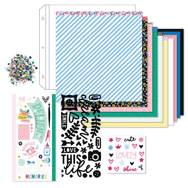 Workshops Your Way® Craft On Scrapbooking Kit