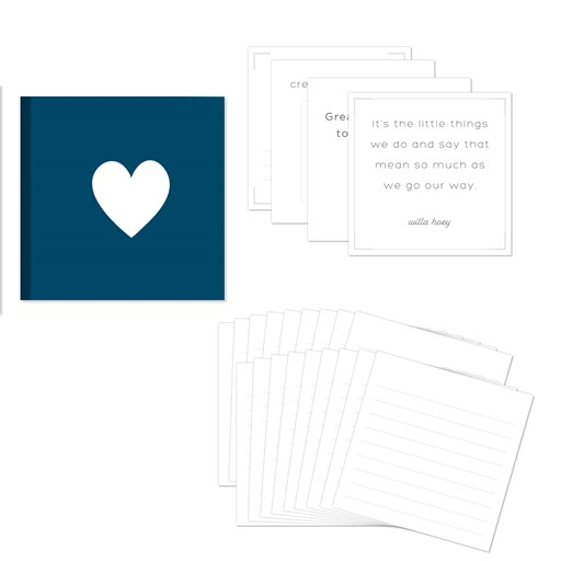 Story by Stacy™ Story Starter Workshop Kit—Heart (Z4090)