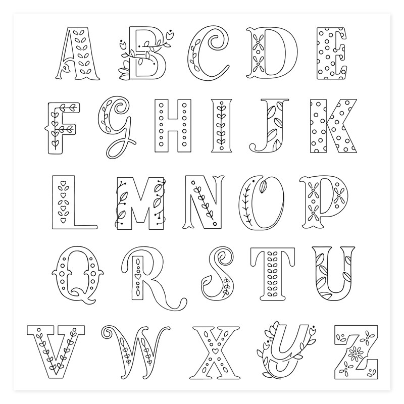 Storybook Alphabet - Stamp of the Month