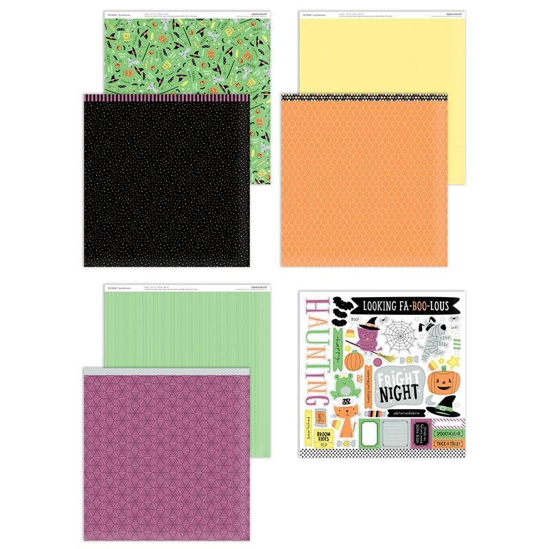 Spooktacular Paper Packet + Sticker Sheet