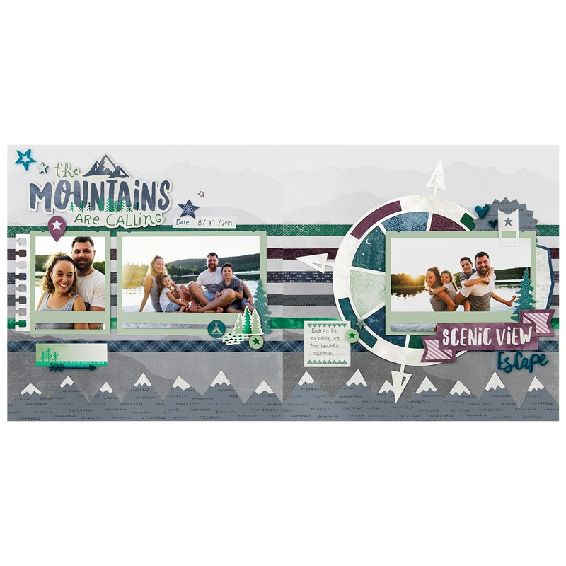 Aurora Scrapbooking Workshop Kit (without Memory Protectors™)
